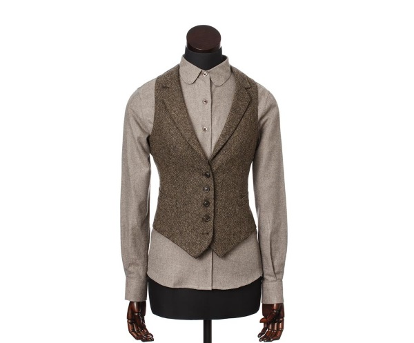 Women's Tweed Waistcoats Iona Brown