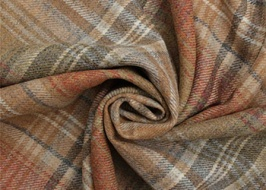 It's warm and cosy with tweed plaid