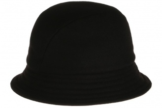Men's tweed hats Eske Hat Tweed Solid Black