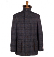 Coats Boyd Coat Brown Blue
