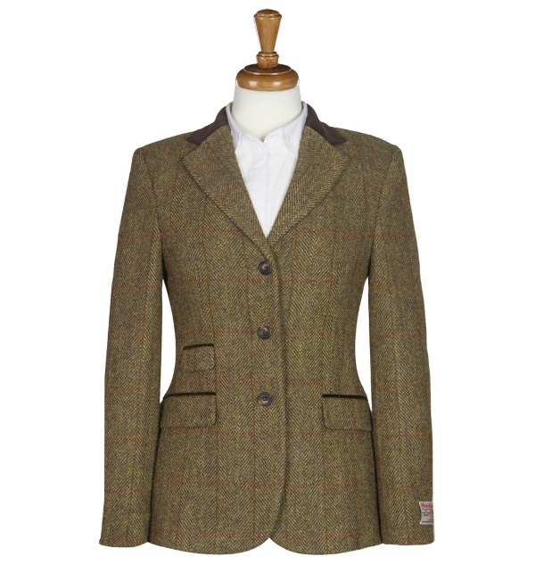 Women's Tweed Jackets Sarah Mustard